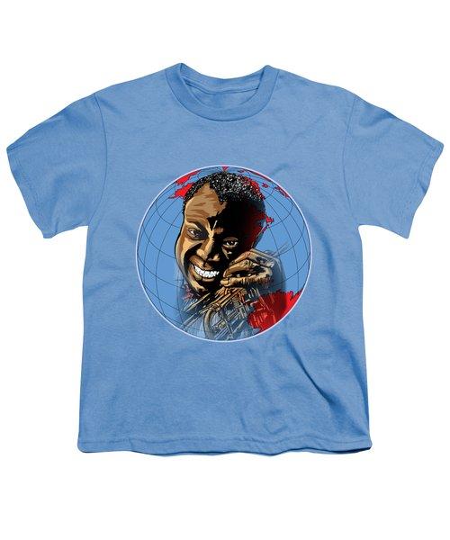 Louis. Youth T-Shirt by Andrzej Szczerski