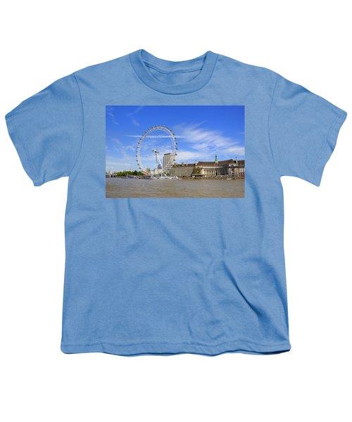 London Eye Youth T-Shirt by Joana Kruse
