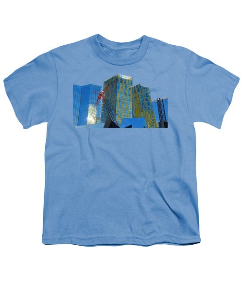 Under Construction Youth T-Shirt by Debbie Oppermann