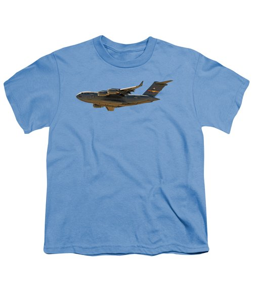 C-17 Globemaster IIi Youth T-Shirt by Mark Myhaver