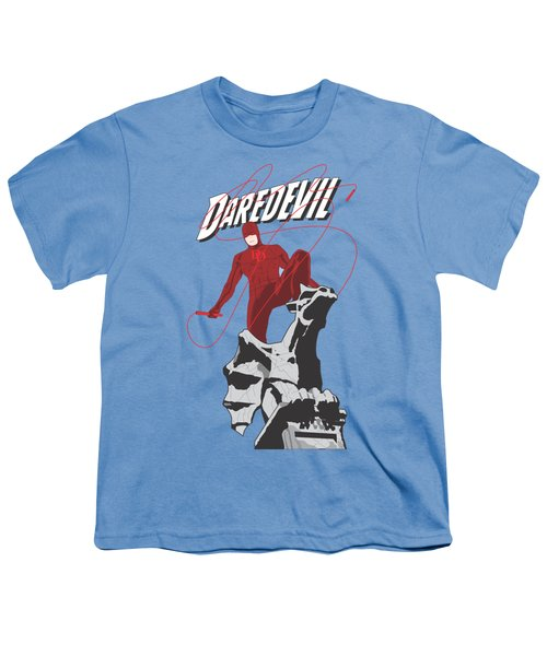 Daredevil Youth T-Shirt by Troy Arthur Graphics