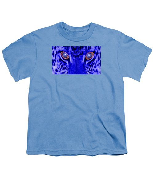 Eyes Of The Leppard Youth T-Shirt by Luisa Gatti