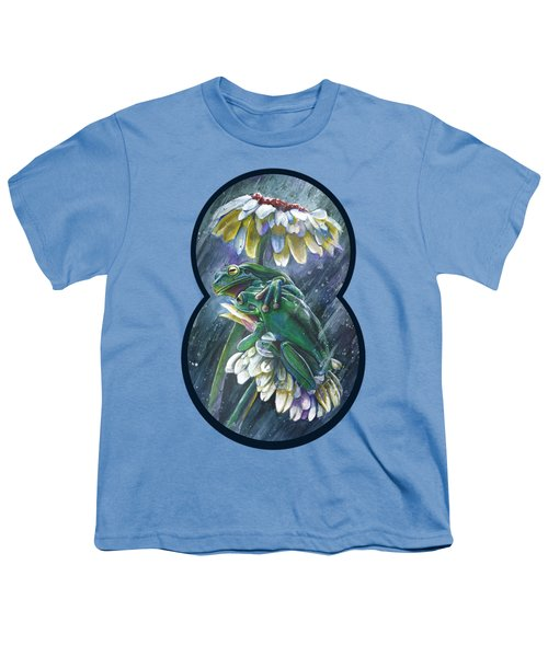 Frogs- Optimized For Shirts And Bags Youth T-Shirt by Michael Volpicelli