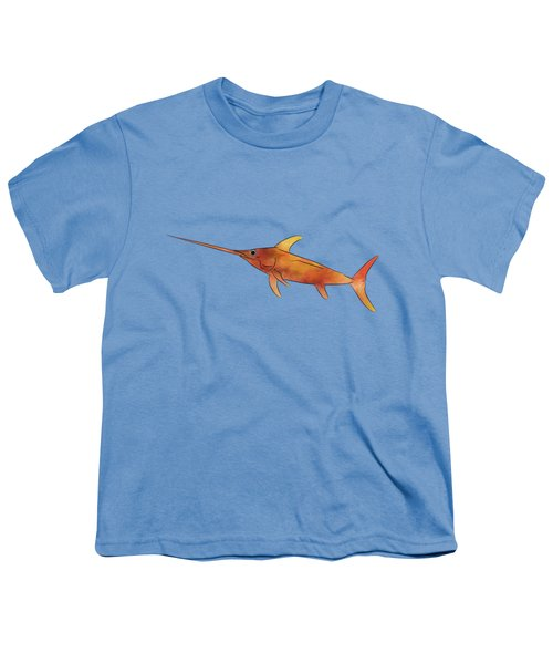 Kessonius V1 - Amazing Swordfish Youth T-Shirt by Cersatti