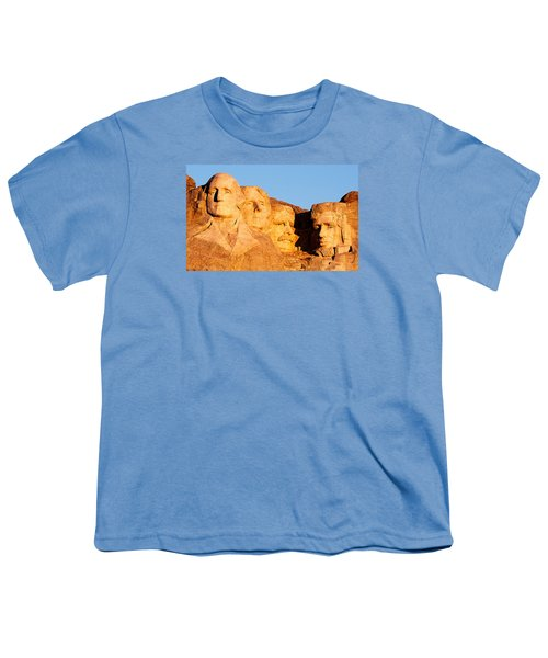 Mount Rushmore Youth T-Shirt by Todd Klassy