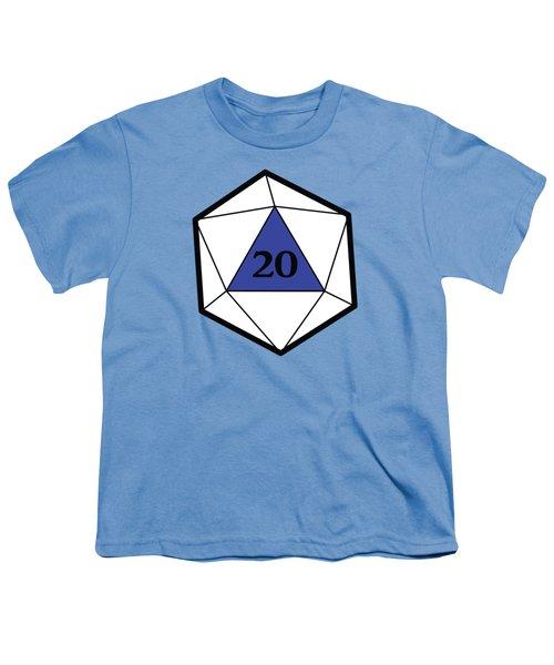 Natural 20 Youth T-Shirt by Carlo Manara