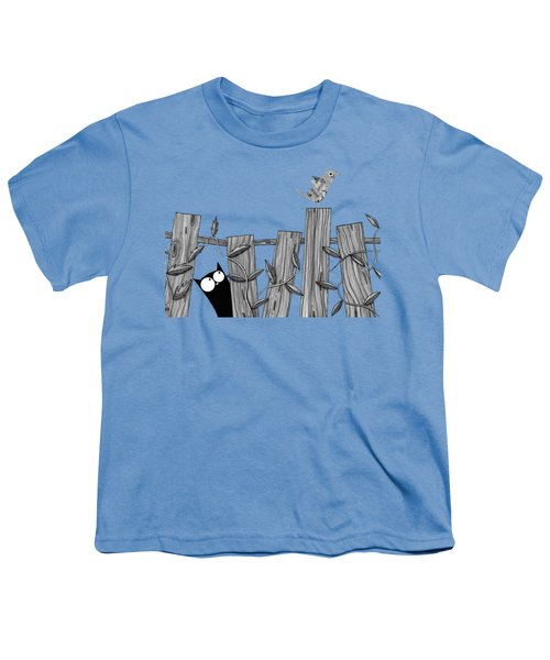 Paper Bird Youth T-Shirt by Andrew Hitchen