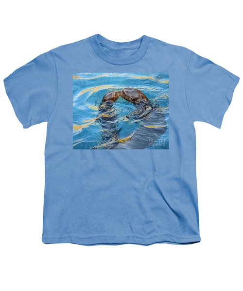 Water Kisses Youth T-Shirt by Jamie Pham