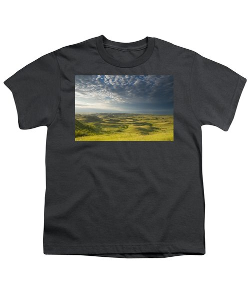 Killdeer Badlands In The East Block Of Youth T-Shirt by Dave Reede