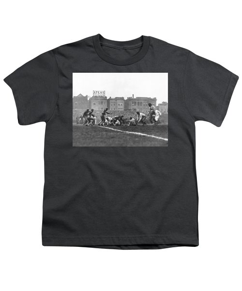 Bears Are 1933 Nfl Champions Youth T-Shirt by Underwood Archives