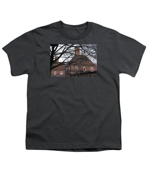 The British Ambassador's Residence Behind Trees Youth T-Shirt by Cora Wandel