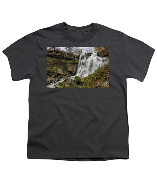 Brandywine Falls Youth T-Shirt by James Dean