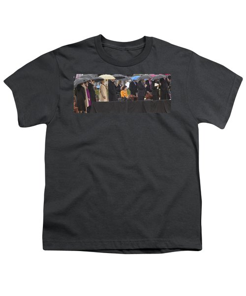 Former Us President Bill Clinton Youth T-Shirt by Panoramic Images