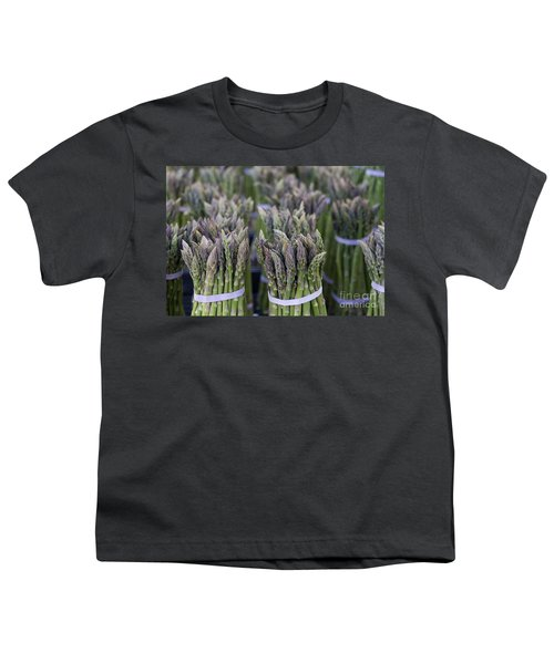 Fresh Asparagus Youth T-Shirt by Mike  Dawson