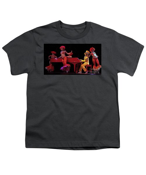 I Love Rock And Roll Music Youth T-Shirt by Bob Christopher
