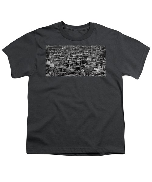 London Skyline Youth T-Shirt by Martin Newman