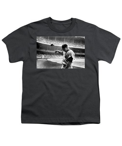 Mickey Mantle Youth T-Shirt by Gianfranco Weiss