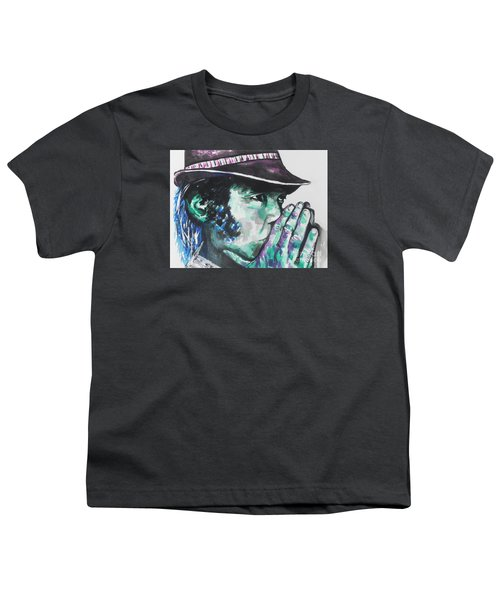 Neil Young Youth T-Shirt by Chrisann Ellis