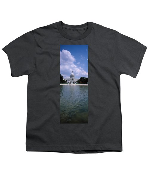 Reflecting Pool With A Government Youth T-Shirt by Panoramic Images