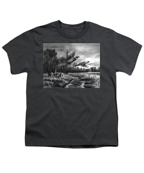 Taking Flight  Youth T-Shirt by Peter Piatt
