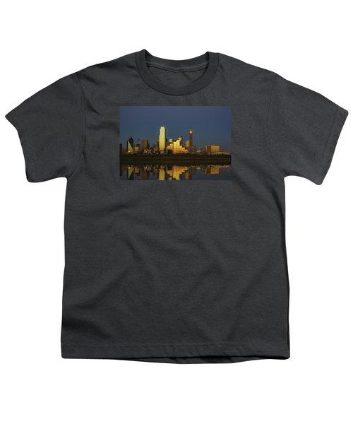 Texas Gold Youth T-Shirt by Rick Berk