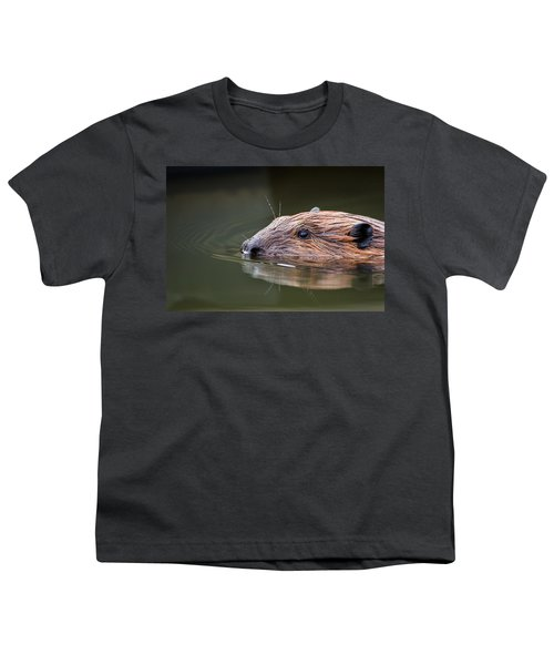 The Beaver Youth T-Shirt by Bill Wakeley