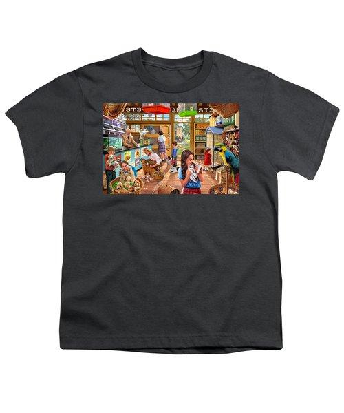 The Pet Shop Youth T-Shirt by Steve Crisp