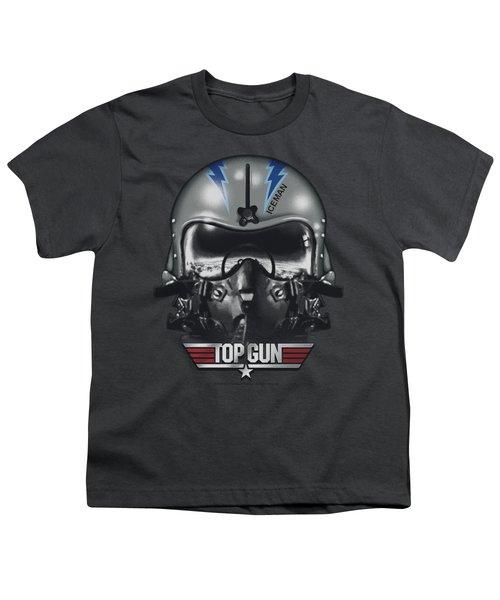 Top Gun - Iceman Helmet Youth T-Shirt by Brand A