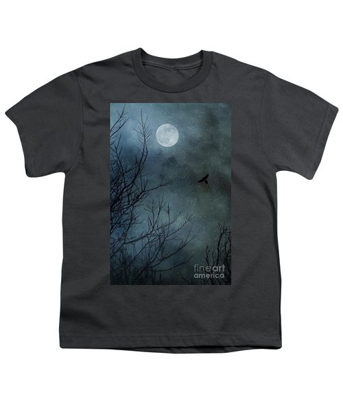 Winter's Silence Youth T-Shirt by Trish Mistric