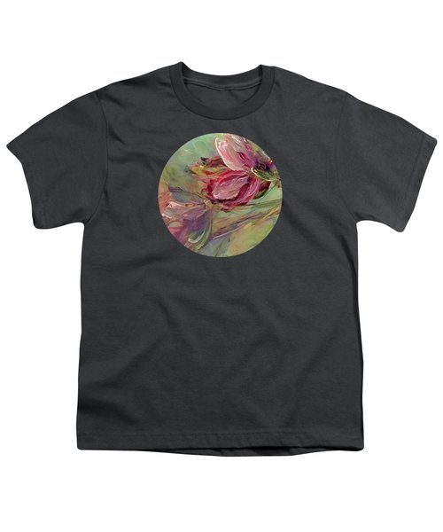 Flower Blossoms Youth T-Shirt by Mary Wolf