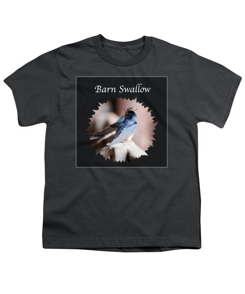 Barn Swallow Youth T-Shirt by Jan M Holden