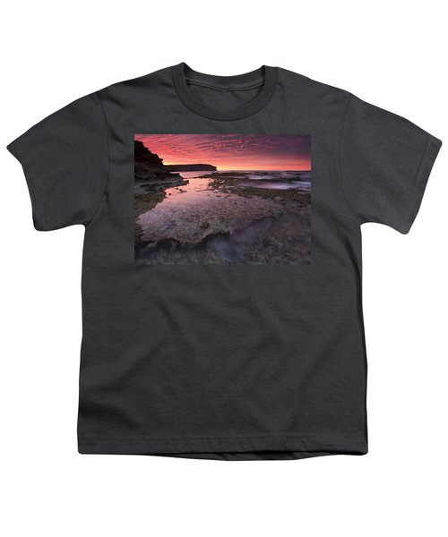 Red Sky At Morning Youth T-Shirt by Mike  Dawson