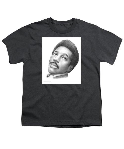 Wilson Pickett Youth T-Shirt by Greg Joens