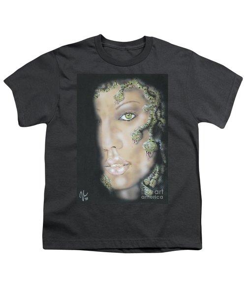 1st Medusa Youth T-Shirt by John Sodja