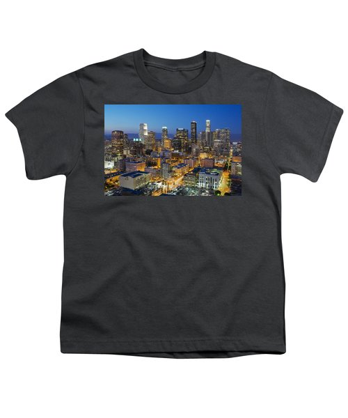 A Night In L A Youth T-Shirt by Kelley King