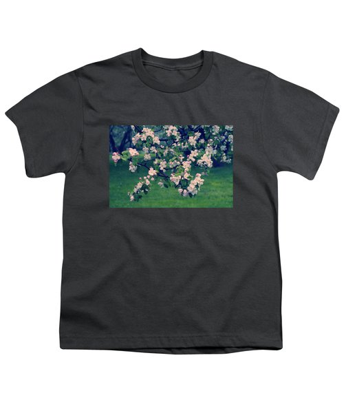 Blossoming Spring Garden Youth T-Shirt by Konstantin Sevostyanov