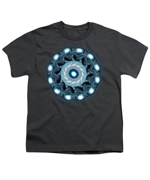 Blue Circle Youth T-Shirt by Anastasiya Malakhova