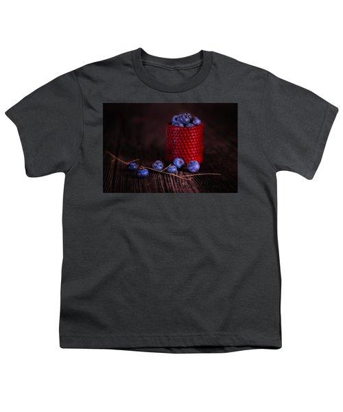 Blueberry Delight Youth T-Shirt by Tom Mc Nemar