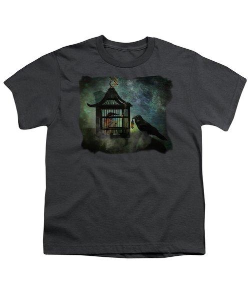 Captivity Youth T-Shirt by Terry Fleckney