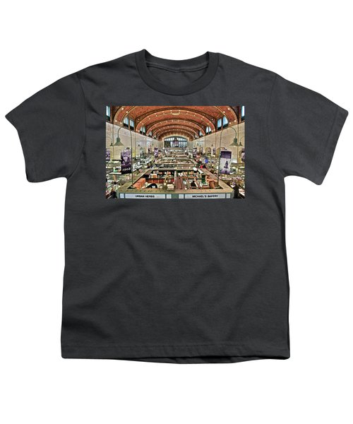 Classic Westside Market Youth T-Shirt by Frozen in Time Fine Art Photography