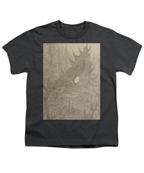 Coastal Castle Youth T-Shirt by Corbin Cox