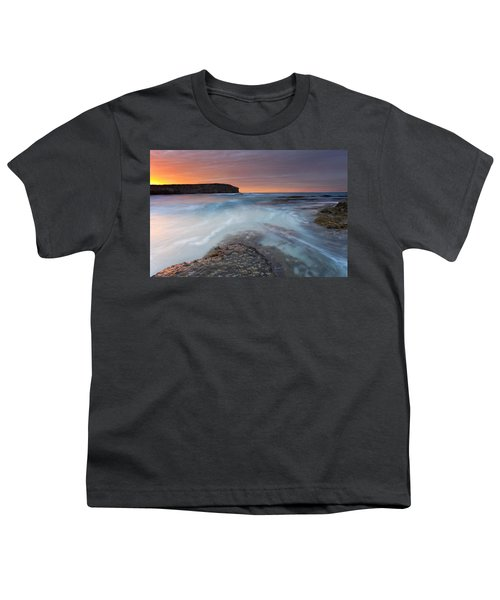 Divided Tides Youth T-Shirt by Mike  Dawson
