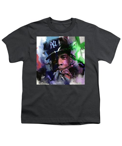 Jay Z Youth T-Shirt by Richard Day