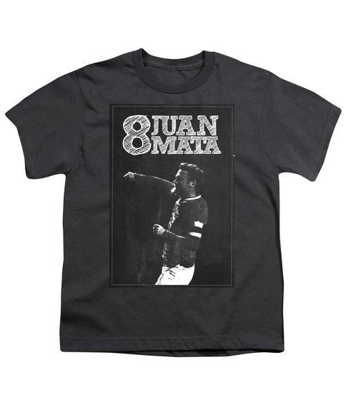 Juan Mata Youth T-Shirt by Semih Yurdabak