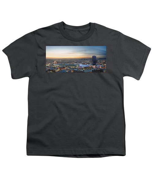 Los Angeles West View Youth T-Shirt by Kelley King