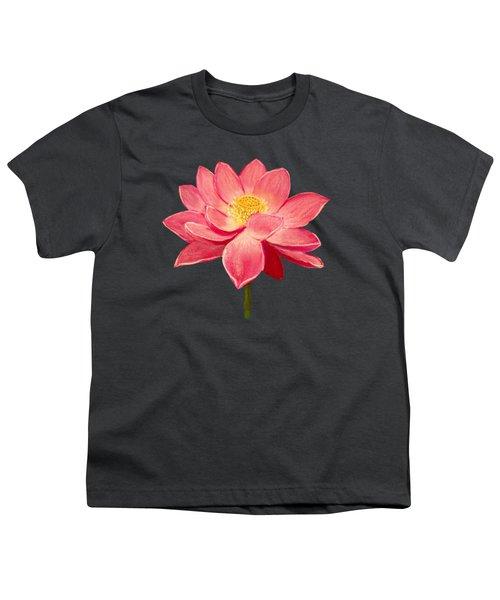 Lotus Flower Youth T-Shirt by Anastasiya Malakhova