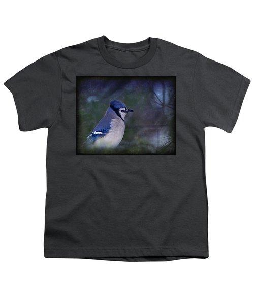 Me Minus You - Blue Youth T-Shirt by Evelina Kremsdorf