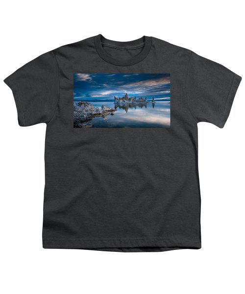 Mono Lake Tufas Youth T-Shirt by Ralph Vazquez