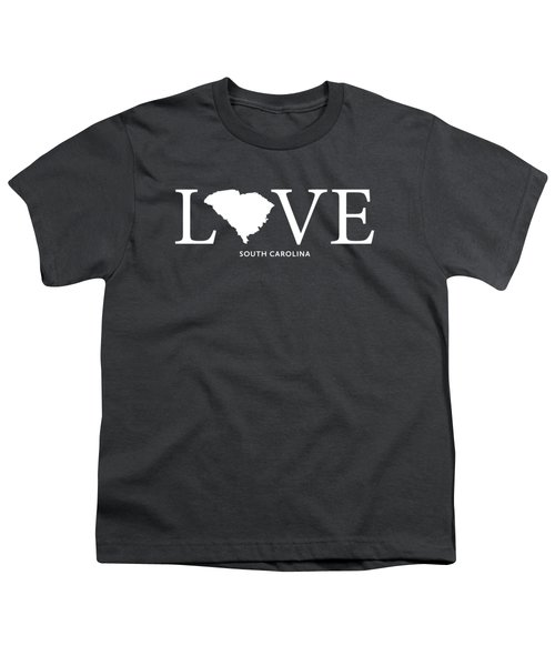 Sc Love Youth T-Shirt by Nancy Ingersoll