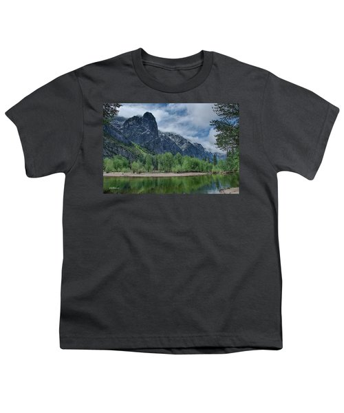 Sentinel Rock After The Storm Youth T-Shirt by Bill Roberts